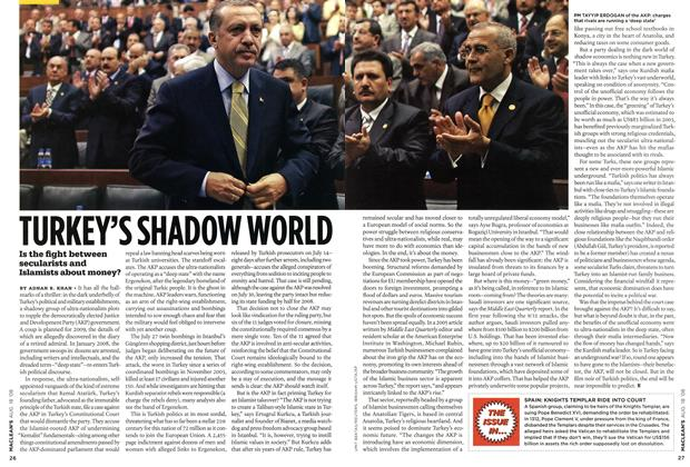 Article Preview: TURKEY'S SHADOW WORLD, AUG. 18th 2008 2008 | Maclean's