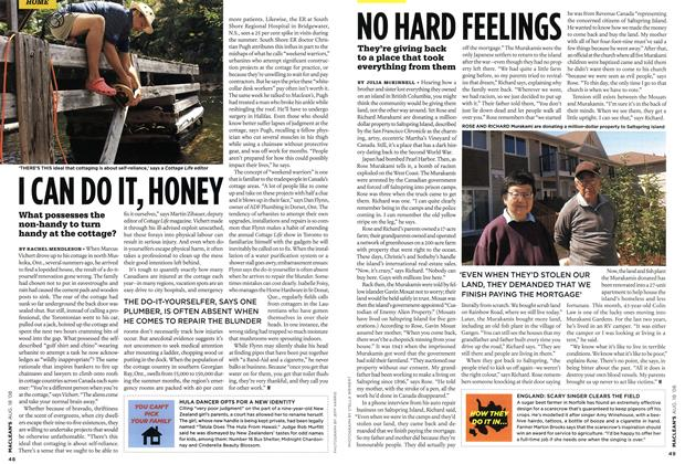 Article Preview: I CAN DO IT, HONEY, AUG. 18th 2008 2008 | Maclean's