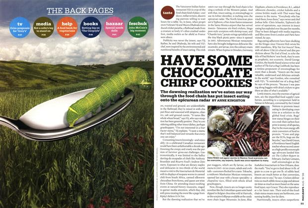 Article Preview: HAVE SOME CHOCOLATE CHIRP COOKIES, AUG. 18th 2008 2008 | Maclean's