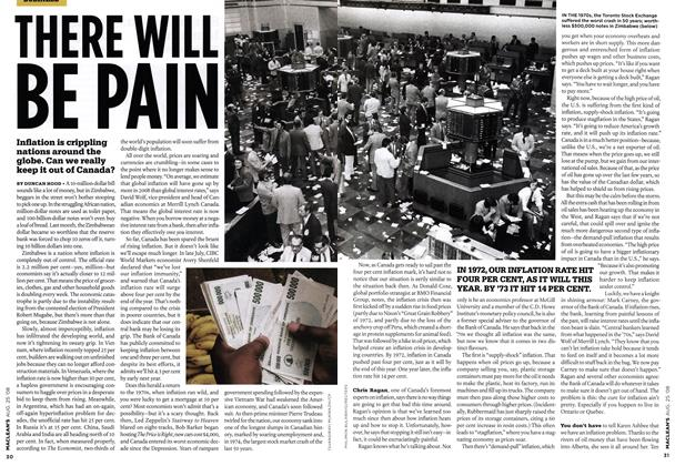Article Preview: THERE WILL BE PAIN, AUG. 25th 2008 2008 | Maclean's