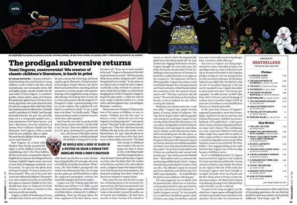 Article Preview: The prodigal subversive returns, AUG. 25th 2008 2008 | Maclean's