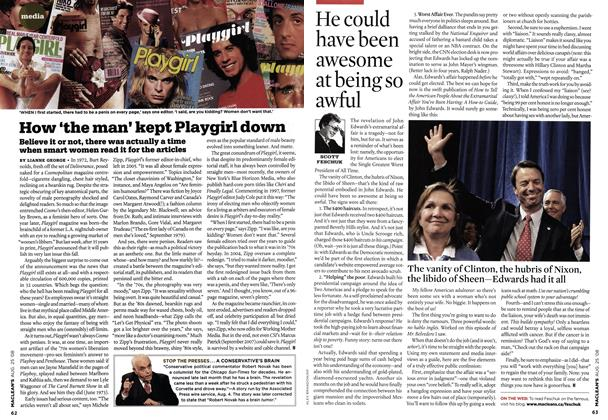 Article Preview: How 'the man' kept Playgirl down, AUG. 25th 2008 2008 | Maclean's