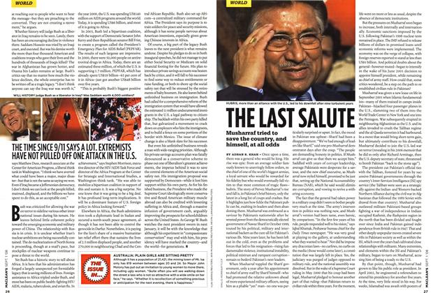 Article Preview: THE LAST SALUTE, September 2008 | Maclean's