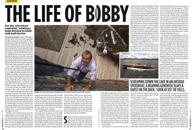 Article Preview: THE LIFE OF BOBBY, September 2008 | Maclean's