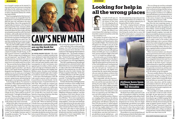 Article Preview: Looking for help in all the wrong places, September 2008 | Maclean's