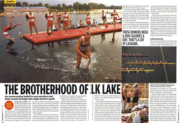 Article Preview: THE BROTHERHOOD OF ELK LAKE, September 2008 | Maclean's