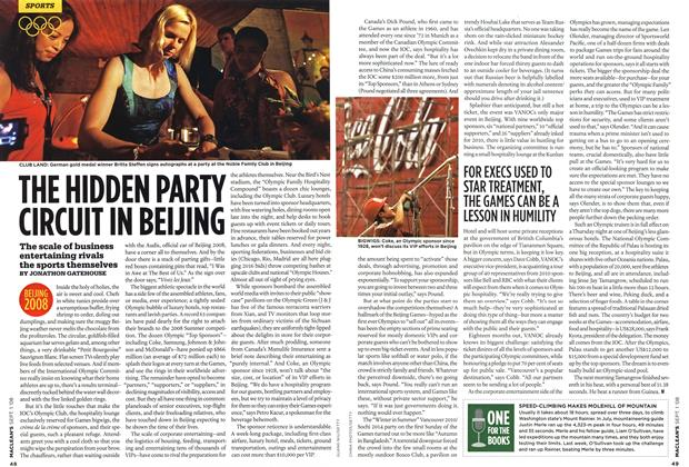 Article Preview: THE HIDDEN PARTY CIRCUIT IN BEIJING, September 2008 | Maclean's