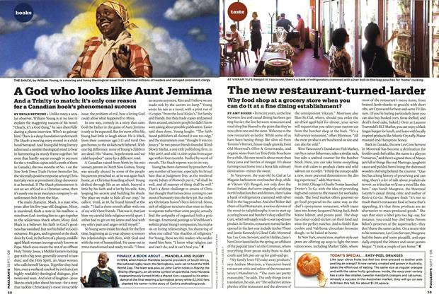 Article Preview: A God who looks like Aunt Jemima, September 2008 | Maclean's