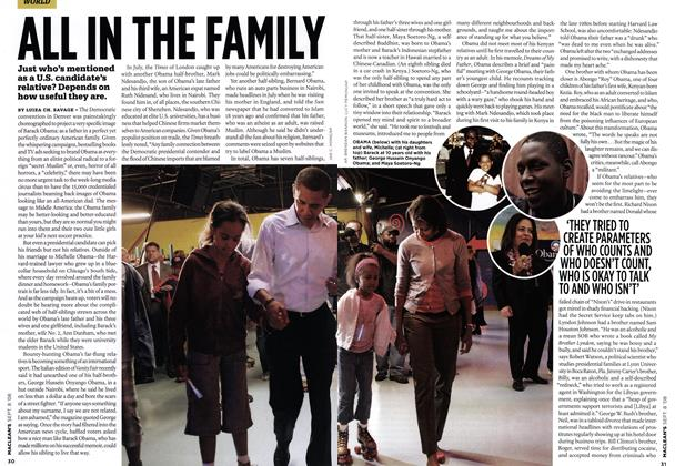 Article Preview: ALL IN THE FAMILY, SEPT. 8TH 2008 2008 | Maclean's