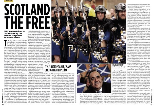Article Preview: SCOTLAND THE FREE, SEPT. 8TH 2008 2008 | Maclean's
