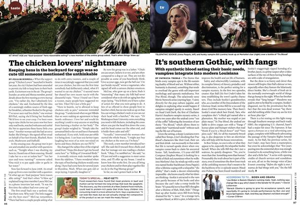 Article Preview: It's southern Gothic, with fangs, SEPT. 8TH 2008 2008 | Maclean's