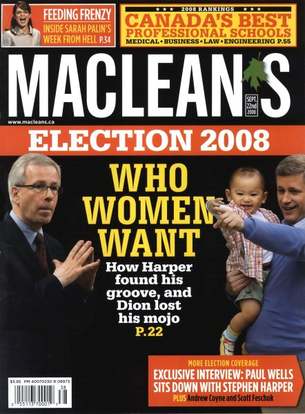 Issue: - SEPT. 22nd 2008 | Maclean's