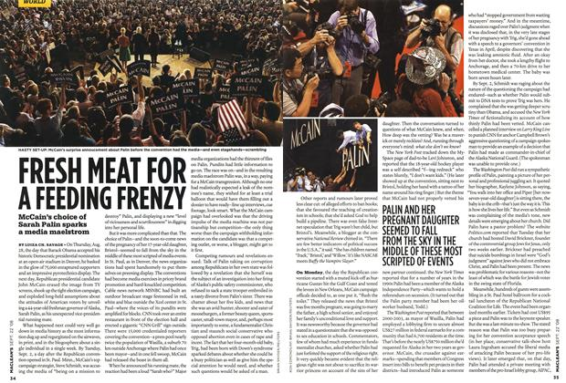 Article Preview: FRESH NEAT FOR A FEEDING FRENZY, SEPT. 22nd 2008 2008 | Maclean's