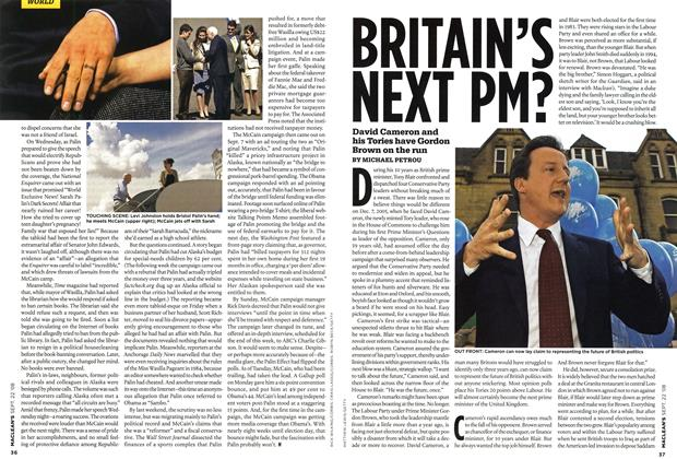 Article Preview: BRITAIN'S NEXT PM?, SEPT. 22nd 2008 2008 | Maclean's