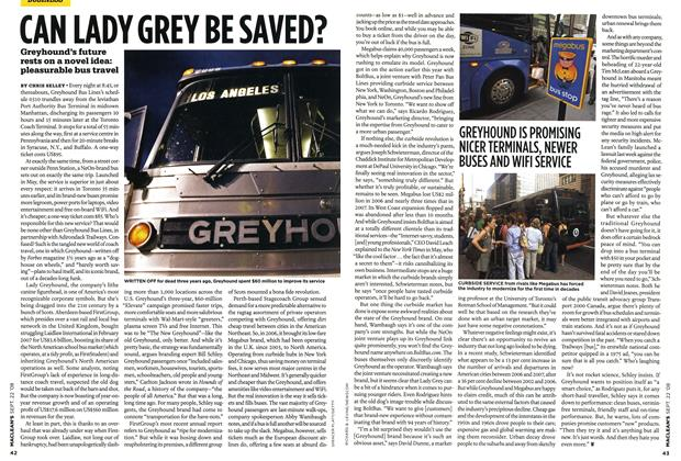 Article Preview: CAN LADY GREY BE SAVED?, SEPT. 22nd 2008 2008 | Maclean's