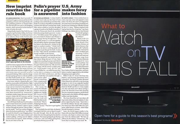 Article Preview: U.S. Army makes foray into fashion, SEPT. 22nd 2008 2008 | Maclean's