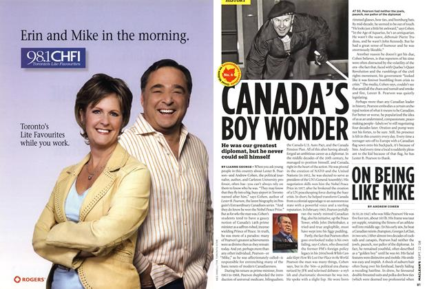 Article Preview: CANADA'S BOY WONDER, SEPT. 22nd 2008 2008 | Maclean's
