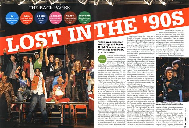 Article Preview: LOSS IN THE 90'S, SEPT. 22nd 2008 2008 | Maclean's