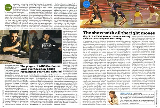 Article Preview: The show with all the right moves, SEPT. 22nd 2008 2008 | Maclean's