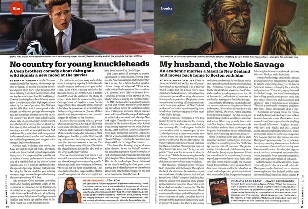 Article Preview: My husband, the Noble Savage, SEPT. 22nd 2008 2008 | Maclean's