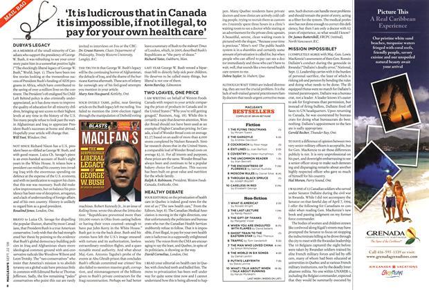 Article Preview: MACLEAN'S BESTSELLERS, SEPT. 22nd 2008 2008 | Maclean's