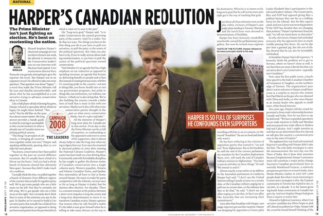 Article Preview: HARPER'S CANADIAN REV OLUTION, SEPT. 29th 2008 2008 | Maclean's