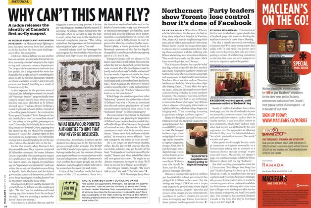 Article Preview: WHY CAN'T THIS MAN FLY?, SEPT. 29th 2008 2008 | Maclean's