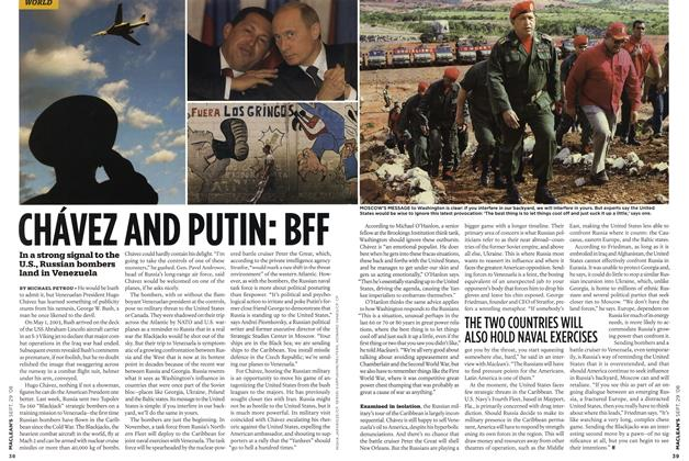 Article Preview: CHÁVEZ AND PUTIN: BFF, SEPT. 29th 2008 2008 | Maclean's