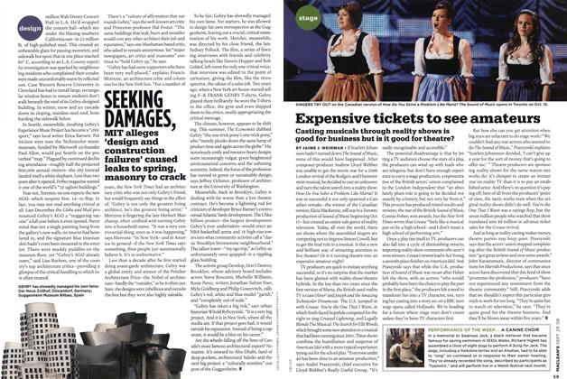 Article Preview: Expensive tickets to see amateurs, SEPT. 29th 2008 2008 | Maclean's