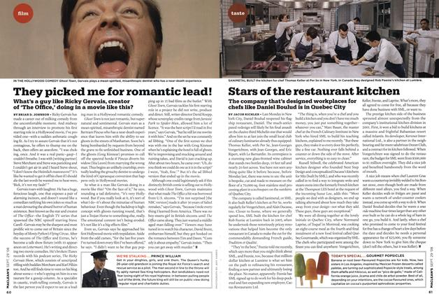 Article Preview: They picked me for romantic lead!, SEPT. 29th 2008 2008 | Maclean's