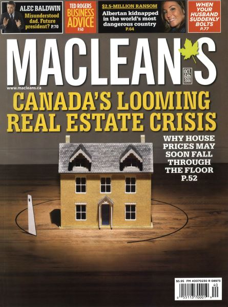 Issue: - OCT. 6th 2008 | Maclean's