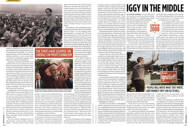 Article Preview: IGGY IN THE MIDDLE, OCT. 6th 2008 2008 | Maclean's