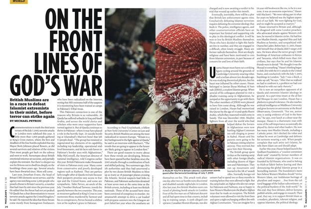 Article Preview: ON THE FRONT LINES OF GOD'S WAR, OCT. 6th 2008 2008 | Maclean's