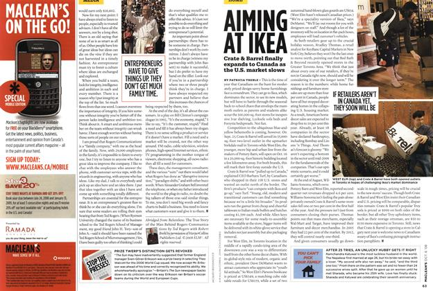 Article Preview: AIMING AT IKEA, OCT. 6th 2008 2008 | Maclean's