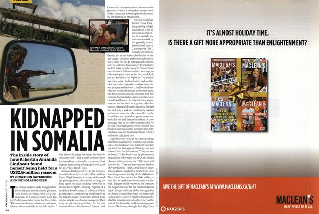 Article Preview: KIDNAPPED IN SOMALIA, OCT. 6th 2008 2008 | Maclean's