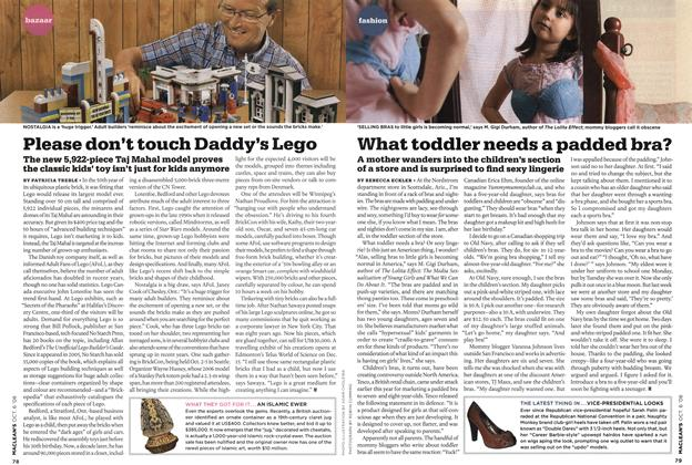 Article Preview: Please don't touch Daddy's Lego, OCT. 6th 2008 2008 | Maclean's