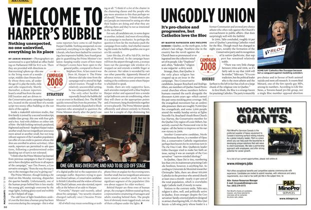 Article Preview: UNGODLY UNION, OCT. 13th 2008 2008 | Maclean's