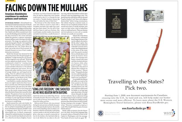 Article Preview: FACING DOWN THE MULLAHS, OCT. 13th 2008 2008 | Maclean's