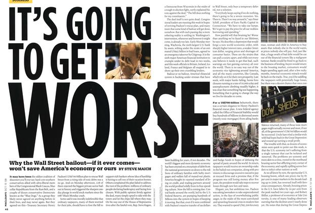 Article Preview: IT'S GOING TO GET WORSE, OCT. 13th 2008 2008 | Maclean's