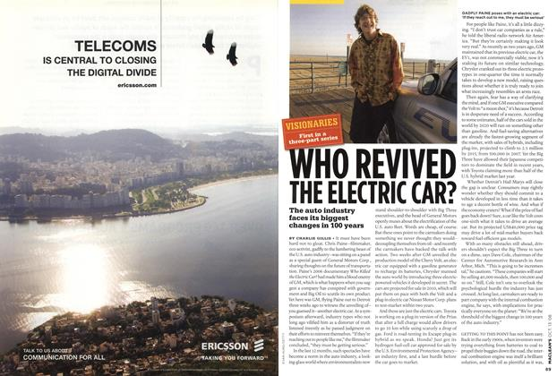 Article Preview: WHO REVIVED THE ELECTRIC CAR?, OCT. 13th 2008 2008 | Maclean's