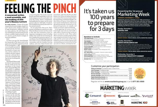 Article Preview: FEELING THE PINCH, OCT. 13th 2008 2008 | Maclean's