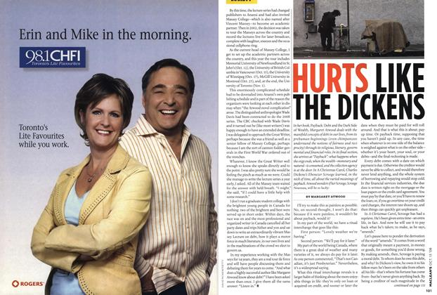 Article Preview: HURTS LIKE THE DICKENS, OCT. 13th 2008 2008 | Maclean's