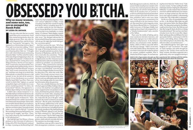 Article Preview: OBSESSED? YOU BETCHA., October 2008 | Maclean's