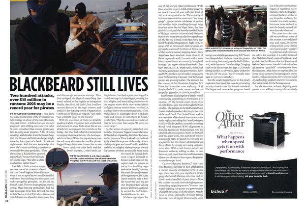 Article Preview: BLACKBEARD STILL LIVES, October 2008 | Maclean's