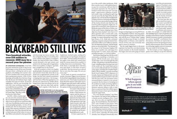 Article Preview: BLACKBEARD STILL LIVES, October 2008 | Maclean's