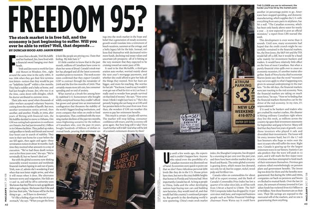 Article Preview: FREEDOM 95?, October 2008 | Maclean's