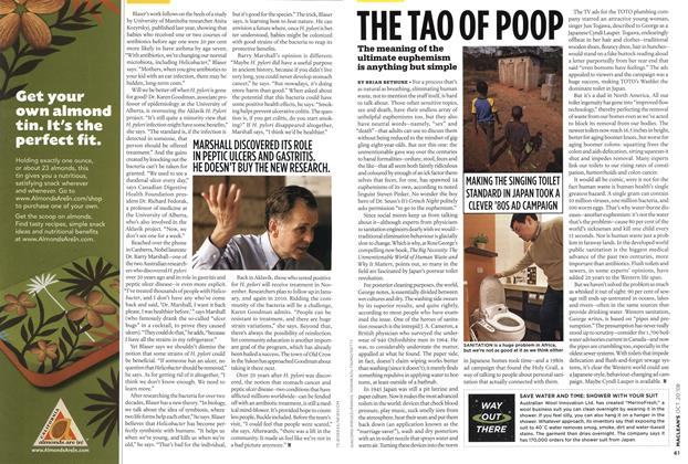 Article Preview: THE TAO OF POOP, October 2008 | Maclean's