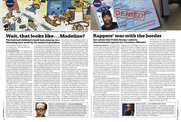 Article Preview: Rappers' war with the border, October 2008 | Maclean's