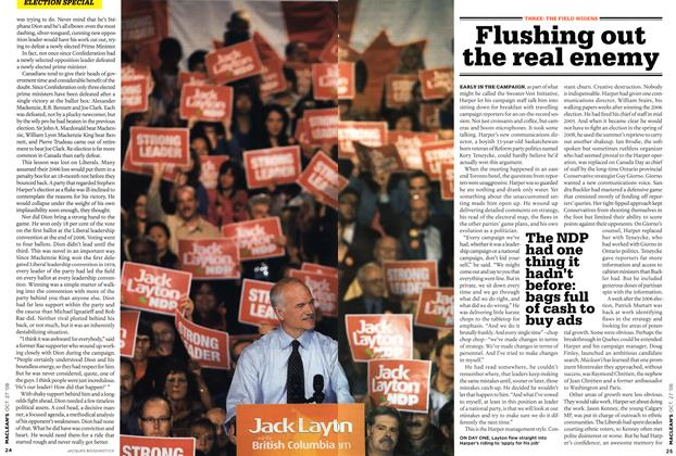 Article Preview: Flushing out the real enemy, OCT. 27th 2008 2008 | Maclean's