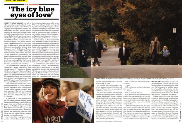 Article Preview: 'The icy blue eyes of love', OCT. 27th 2008 2008 | Maclean's